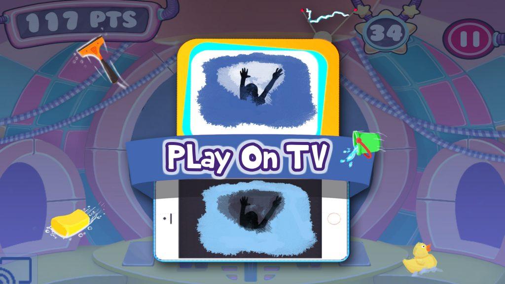 wireless TV casting - Chromecast games